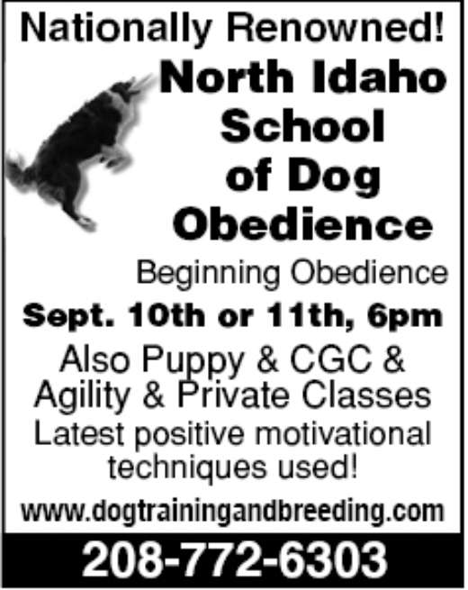 Pet Listings on the Nickels Worth in Montana and Idaho